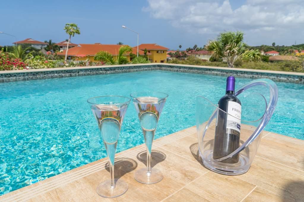 Vakantievilla Curaçao badkamer genieten. Het vriendelijk Curaçao wacht op u.
