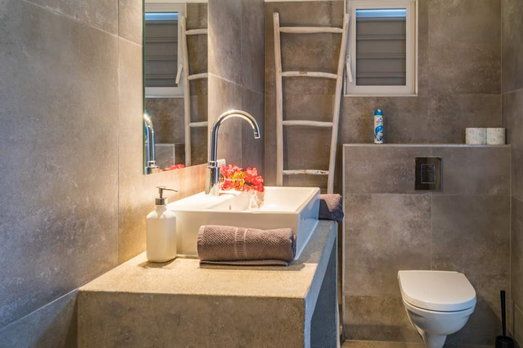 Appartement Curaçao badkamer. Het vriendelijk Curaçao wacht op u.