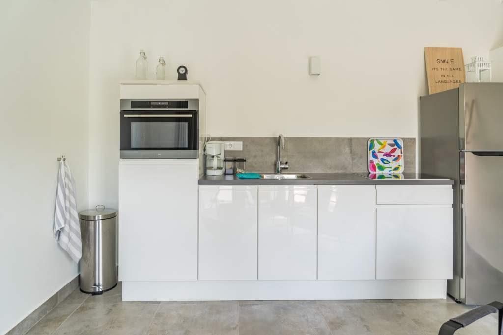 Appartement Curaçao keuken. Het vriendelijk Curaçao wacht op u.
